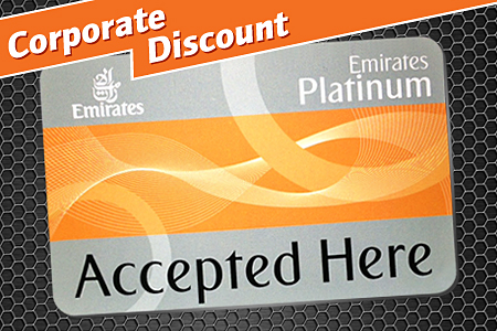 Emirates Airlines Platinum Card Holder